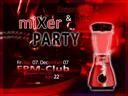 Plakat za miXer PARTY