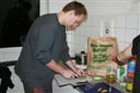 Žiga pri rezanju kumaric